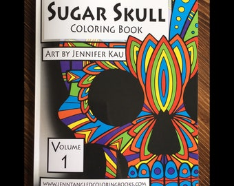 Sugar Skull Coloring Book