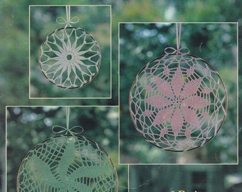 Lace Suncatchers, Leisure Arts Crochet Pattern Booklet 2127