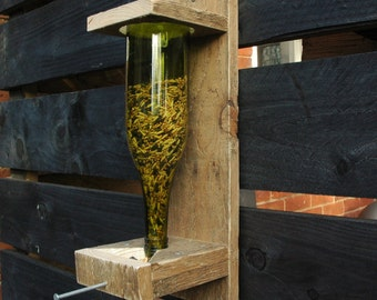 Pallet Wood Bird Seed Feeder