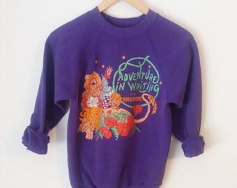 SALE! // Vintage School Academic Sweater