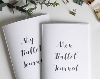 Bullet journal refill, BUJO refill for A5 notebook brindecrea, a5 insert printed, notebook inserts, personalized notebook,