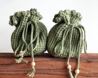 Small green bag