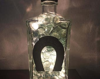 Lighted Herradura Tequila Bottle