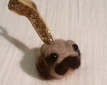 Tater Pug  (Pug lavender scented ornament)