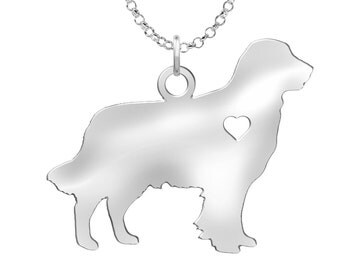 Golden Retriever Necklace | Solid Sterling Silver | Golden Retriever Silhouette Charm | Personalized Dog Jewelry | Golden Retriever Earrings