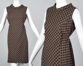 1960s Loose Casual Dress Loose Fall Dress Alternative No Sleeves