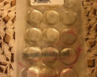 1 Inch Circle Epoxy Stickers