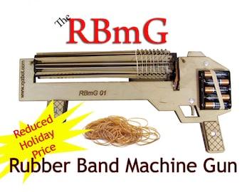 Rubber Band Machine Gun (RBmG-01)