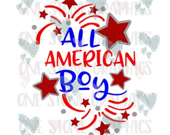 All american boy svg,all american,fourth of july svg,fourth of july,4th of july svg,independence day svg,fireworks svg,stars svg,patriotic