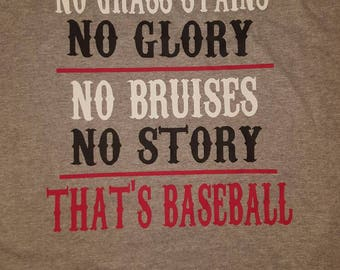 Baseball Coach Dad or Player Shirt