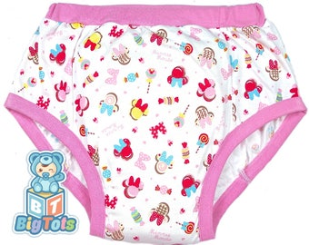 Adult Baby Minnie Mouse & Candy training pants ABDL