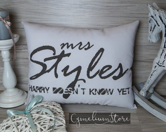 One Direction - Harry Styles - hand made pillow 1D