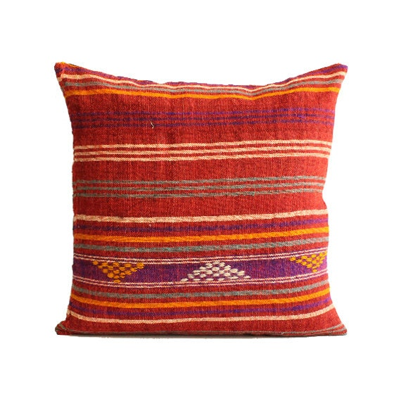 20x20 southwest pillow southwestern home decor kilim pillow. Black Bedroom Furniture Sets. Home Design Ideas