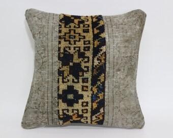 16x16 Pillow Cover Bohemian Pillow Oriental Pillow Vintage Rug Pillow Cover Pastel Rug Pillow Faded Rug Pillow Patchwork Pillow SP4040-1811
