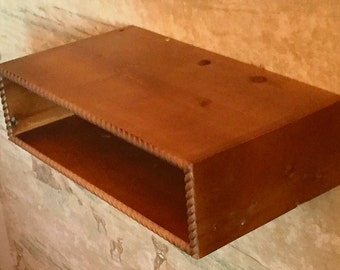 Floating TV Stand, Wall Mounted Audio/Video Console