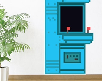 8 Bit Arcade Wall Decal