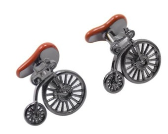 Unicycle Bike Cufflinks-k47