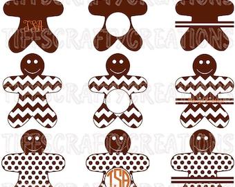 Christmas svg christmas svg files christmas svg file christmas cricut christmas dxf gingerbread digital gingerbread monogram gingerbread svg