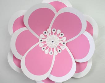 """X-Large, giant paper flower, large paper flower, big paper flower for any occasion """"JULIA"""""""
