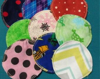 Reusable cloth nursing pads