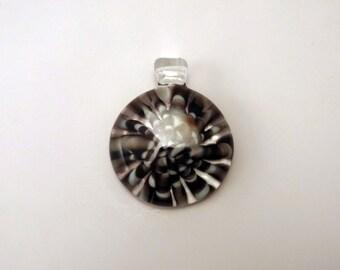 Black pendant blowing glass blown glass pendant boro pendant cool jewelry glass blowing glass blown pendant heady pendant boro handmade