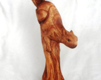 Squirel wood carving (#sqrl14)