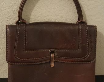 Vintage Brown Handbag