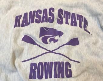 Kansas State Rowing XL Champion Sweatshirt