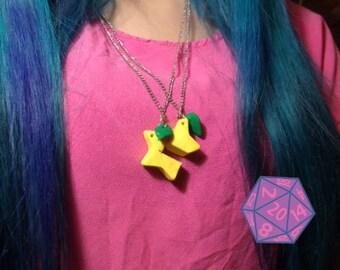 Kingdom Hearts Paopu Fruit Friendship Necklace