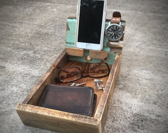 wooden watch holder