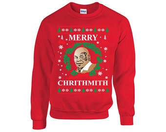 Merry chrithmith ugly christmas Sweater, Christmas party, Holiday gift, ** Expedited Shipping