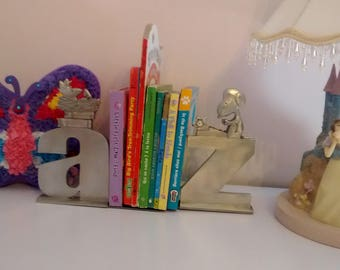 Vintage Snoopy and Woodstock Bookends