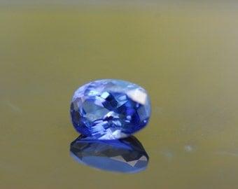 Loose Sapphire, Natural Gemstone,  Ceylon Blue Sapphire, Oval Cut Loose Gemstone 1.04ct