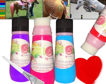 Equifashion Deluxe Easy Squeeze Horse & Pony Paint - 130ml
