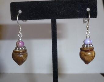 Acorn Earrings #13
