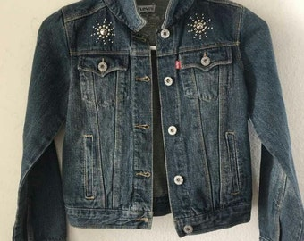 Good denim jacket for a child 11-12 years.