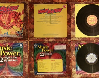 Chart Hits 70's & 80's 2 LP Set #1