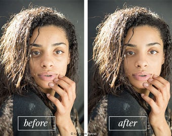 Photoshop Tutorial & Action: Frequency Separation