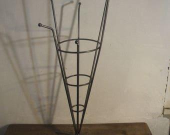 Metal door umbrellas.