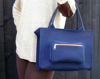 LEATHER BAG, Shoulder Leather Bag, Top Handle Leather Bag, Bag, Leather Purse, Leather Handbag