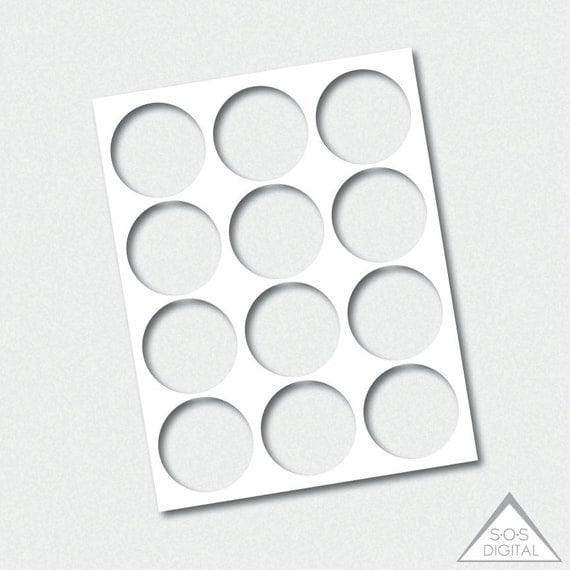9 inch circle template - 2 5 inch circle template party printable template png