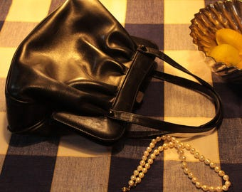 sweet, small-bag, genuineleather Vintage, 50's