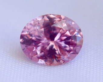 Ceylon Natural Pink Sapphire Oval Cut 8mm