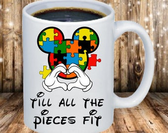 Mickey Autism Coffee Mug