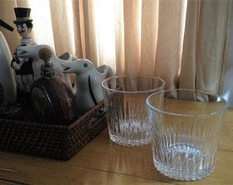 Pair of Classic Elegant Lead Crystal Ice Buckets
