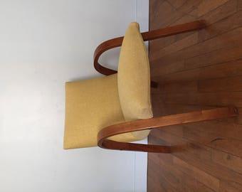 Restored Steiner Bow Wood Chair