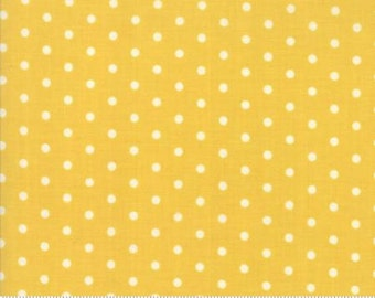 Caravan Roundup Yellow Cream Dot Yardage by Mary Jane Butters for Moda Fabrics 100% Cotton #11645 14
