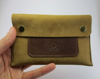 Nubuck Leather Pouch leather tobacco pouch