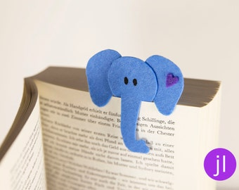 """Elephant"" bookmark"