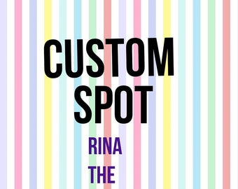 Custom pants for Rina
